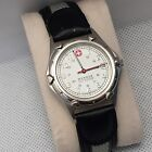 Swiss Wenger military time date men's watch