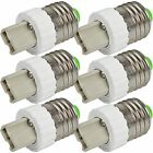 10X MENGS E27 ES Edison Screw to G9 Base Socket Converter for CFL LED Light Bulb