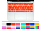 Spanish Keyboard Cover Silicone Skin For New Macbook Pro 13 15 With Touch Bar