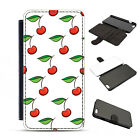 Leather Cherry Fruit Pacha Style Summer Fruits Phone Cover Case