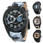 Bomberg 1968 Brown Dial Mens Chronograph Watch - Choose color