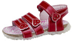 Primigi Patent Leather Summer Sandals Easy Touch Fastening Red Shoes Kids Size