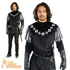 Mens Sheriff of Nottingham Costume Robin Hood Historical Fancy Dress Outfit