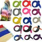 "20"" Ombre Colors Real Human Hair Tape In Hair Extensions PU Weft Hairpiece Lot"