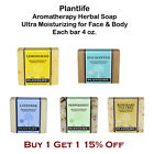 all natural face soap - PlantLife Aromatherapy Herbal Soap for Face & Body All Natural Hand-Crafted