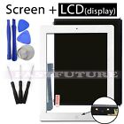 LCD display  Touch Screen Digitizer - Replacement For Apple iPad 3 White/Black