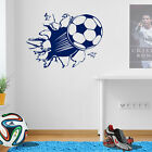 Football Soccer Goal Kick Boys Kids Bedroom Wall Art Sticker Childrens New A44