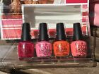 OPI SPRING/SUMMER NEW COLLECTION CALIFORNIA LACQUERS POLISHES MINI'S & SETS