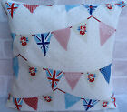 """Fryetts Union Jack Bunting Style cushion cover 16""""  All Sizes Available"""