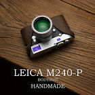 Mr.Stone Handmade Real Leather Half Camera case For Leica M M240 M240-P M-P M-M