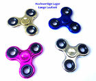 Figet Finger Hand Spinner Anti Stress Toy ADHS metallic versch Farben Focus