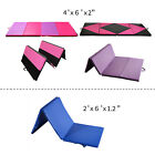 Heavy Duty Folding Mat Thick Foam Fitness Exercise Gymnastics Panel Gym Workout image