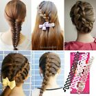 Women Fashion Accessories French Braided Hair Maker Styling Clip Stick NC8901
