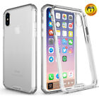 For iPhone 6 6S 7 Plus TPU Clear Case Hybrid Ultra Thin Bumper Hard Back Cover