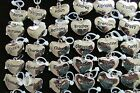 Stainless Heart Name Charms Pendants Personalized Brand New