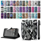 For HTC Desire 530 630 ID Card Leather Flip Wallet Cover Pouch Case Stand + Pen