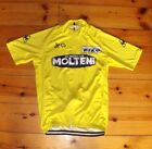 Brand New Team Molteni Yellow Cycling jersey Tour De France Eddy Merckx