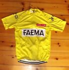 Brand New Team Faema Yellow Cycling jersey Tour De France Eddy Merckx