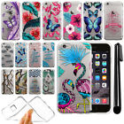 For Apple iPhone 6 4.7 inch Ultra Thin Clear Soft Gel TPU Case Cover + Pen