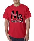 New Way 086 - Unisex T-Shirt Mr Always Right Mickey Bow Tie