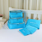 6pcs Waterproof Clothes Storage Bag Packing Cube Travel Luggage Organizer