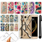 For LG K10 Premier LTE L62VL K430 Ultra Thin Clear Soft Gel TPU Case Cover + Pen