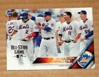 2016 Topps All-star Fanfest Silver Stamped Logo New York Mets You Pick / Choose