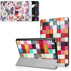 Fashion Pattern Leather Tri-Fold Slim Folio Stand Case Cover for New iPad 9.7""