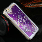 New Star Liquid Back Phone Case Cover  Luxury Glitter For iPhone 5 6 7 Samsung