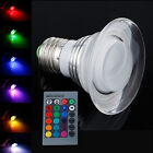 10W RGB LED Flood Light Dimmable Ceiling Lamp Bulb Remote Control Home Decor