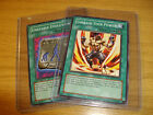 YU-GI-OH! SPELL CARDS ~ ALL BEGIN WITH LETTER U & V
