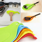 Kitchen Spoon Rest Heat Resistant Teabag Spatula Holder Dish Cooking Tools
