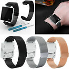 Milanese Stainless Steel Magnetic Band Wrist Strap for Garmin Vivoactive Watch