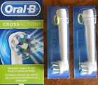 BRAUN ORAL B TOOTHBRUSH HEADS CROSS ACTION