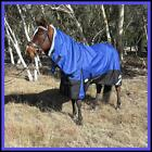 LOVE MY HORSE 5'0 - 6'9 1200D Reflective Fleece Lined Turnout Combo Royal Blue