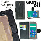 Diary Wallet Style Folio Flip Flap Cover Case For Gionee S6s