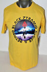 CHRIS BROWN Black Pyramid S/S EXPEDITION T-SHIRT YELLOW Y1160296DT-YLW