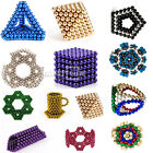 5mm 216pcs Magnet Balls Magic Beads 3D Puzzle Ball Sphere Magnetic Kids Best Toy