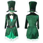 St Patrick's Luscious Green Leprechaun Cosplay Costume Party Adult HC-022
