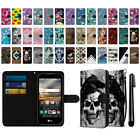 For LG K3 LS450 Ultra Slim Wallet Pouch Credit Card Case Cover + Pen