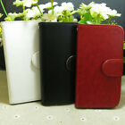 Fashion Magnetic Wallet Holder flip case cover For Lenovo Phone