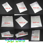 9 Specifications Poly Unsealed Self Adhesive bags Plastic OPP Clear Pack jewelry