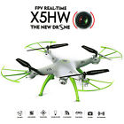 Syma X5HW 2.4G 4CH 6Axis FPV Drone with WIFI HD Camera Hover RC Quadcopter