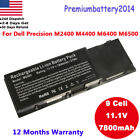 New laptop Battery for Dell Precision M6400 M6500 G102C F678F KR854 8M039 9Cell