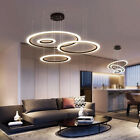 Double Glow 3 Square Dimmable LED Hanging Chandelier Fashionable Change Lamp