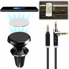 Air Vent Magnetic Car Holder Mount+3.5mm Stereo Audio Cord for Galaxy Note 8