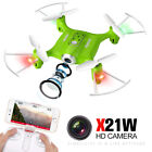 Syma X22W HD Camera Drone with WIFI FPV 2.4G 6-Axis Gyro Hovering RC Quadcopter