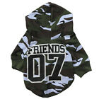 Pet Dog Clothes Camo Puppy Coat Sweatshirt Chihuahua Yorkie Dog Hoodie Clothing