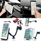Universal 360°Car Mount Windshield Dash Holder Cradle F Cell Phone Tablet PC GPS