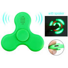 Fidget Hand Spinner with LED LIGHT Bluetooth Speaker Relieve Stress EDC TOY GIFT